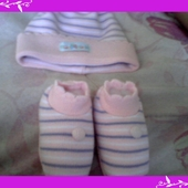 olha o que eu comprei para a saida da maternidade