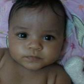 Carinha larga de minha princesa mais linda #5meses  :)