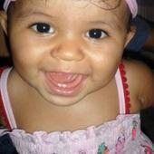 Minha primeira filha #Aysha . Ela esta completando 9 meses hoje. Faltam apenas 3 meses pra fazer 1 aninho. Meninas aproveitem bem pq passa muito rápido ! Bjos nos bebes.