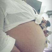 29/30 semanas á espera da Lais linda ♥